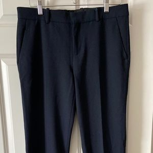 ZARA WOMAN STUDIO Navy Blue Dress Pants Trousers